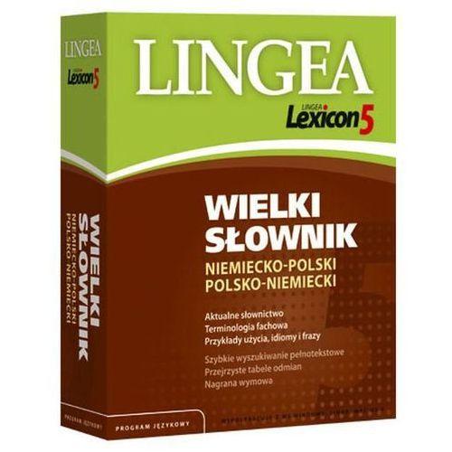 Lexicon 5. Wielki słownik niemiecko-polski, polsko-niemiecki, Lingea