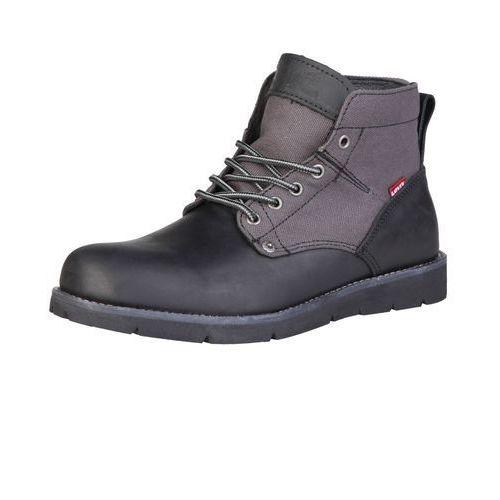 Męskie buty levi's 225129 884 jax czarne, Levis