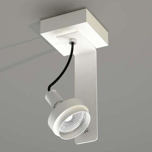 Plafon LAMPA sufitowa GERO 2204/GU10/BI Shilo metalowa OPRAWA natynkowa biały, 204/GU10/BI
