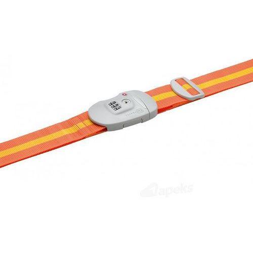 dg/342 pas do zabezpieczenia bagażu - pomarańczowy / żółty marki Go travel