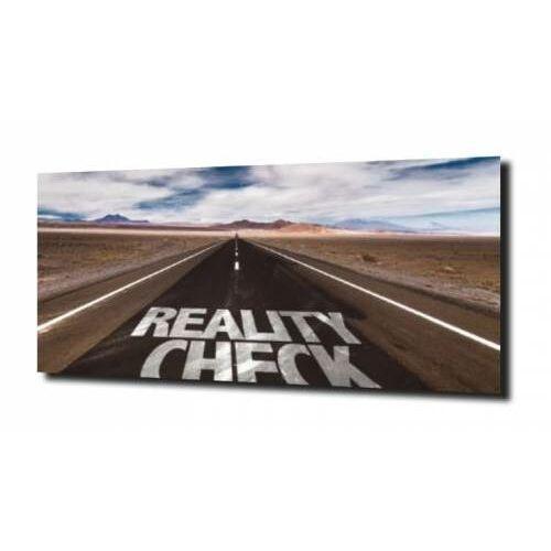 Obraz na szkle napis autostrada kalifornia 100x80 marki Zahartowani.pl