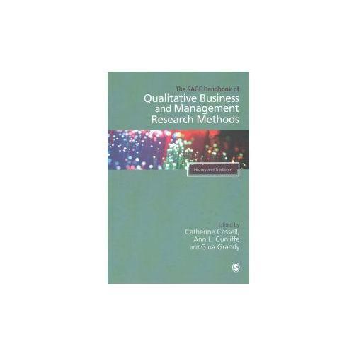 SAGE Handbook of Qualitative Business and Management Researc