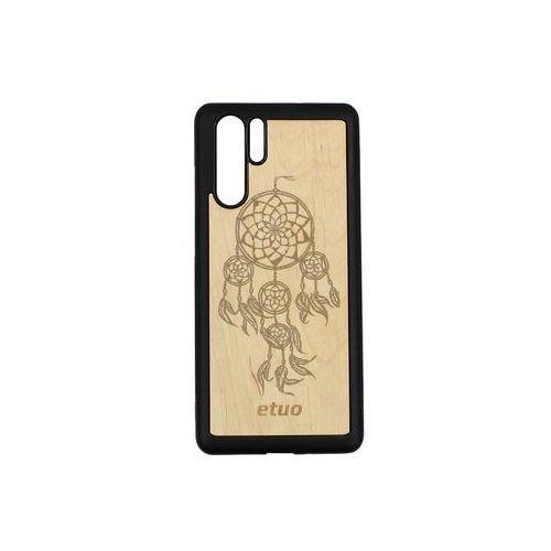 Etuo wood case Huawei p30 pro - etui na telefon wood case - olcha - łapacz snów