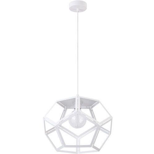LAMPA wisząca ATO L 31876 Sigma metalowa OPRAWA geometryczna ZWIS loft biały (5902846819585)