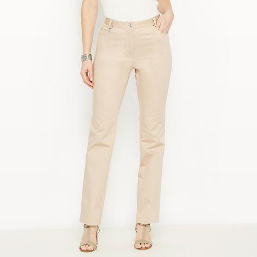 Spodnie o prostym kroju, niski stan,, Anne weyburn