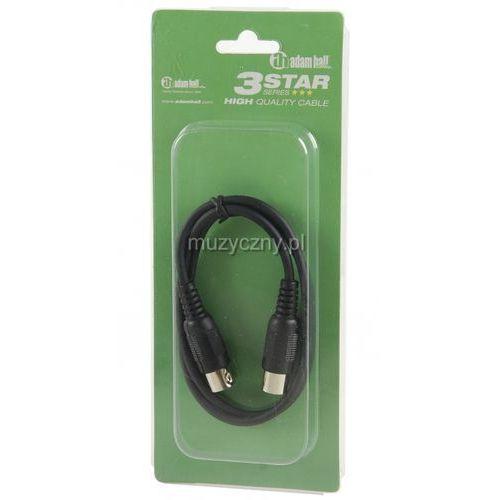 Adam Hall K3 MIDI 0075 BLK kabel MIDI 0,75m (czarny)