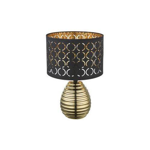 mirauea lampa stołowa złoty, 1-punktowy - - obszar wewnętrzny - mirauea - czas dostawy: od 4-8 dni roboczych marki Globo