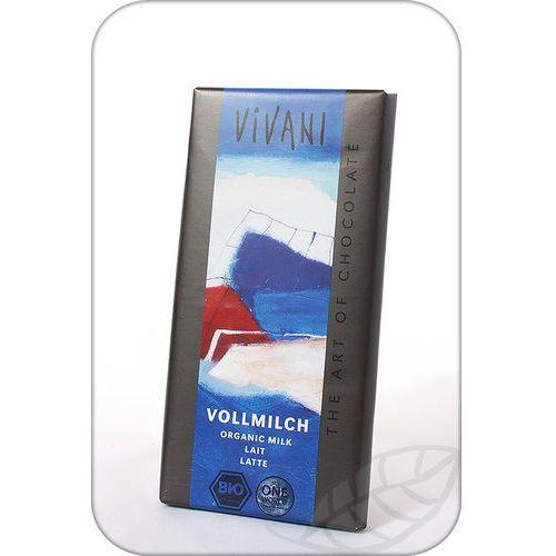: czekolada mleczna bio - 100 g marki Vivani