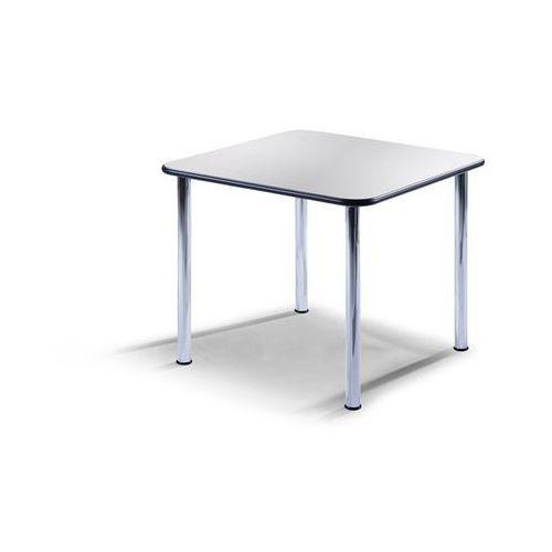 Stół konferencyjny, wys. 720 mm, kwadratowe, 900x900 mm, szkielet chromowany, bl marki Friwa sitzmöbel