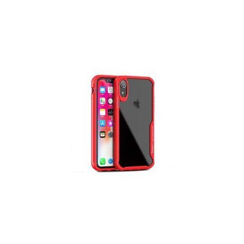 iPaky Survival żelowy pokrowiec wzmocnione etui iPhone XR czerwony, kolor czerwony