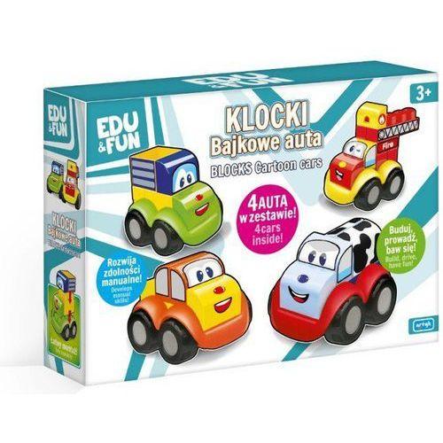 Edu&Fun Auto-Klocki, zestaw 4 autek
