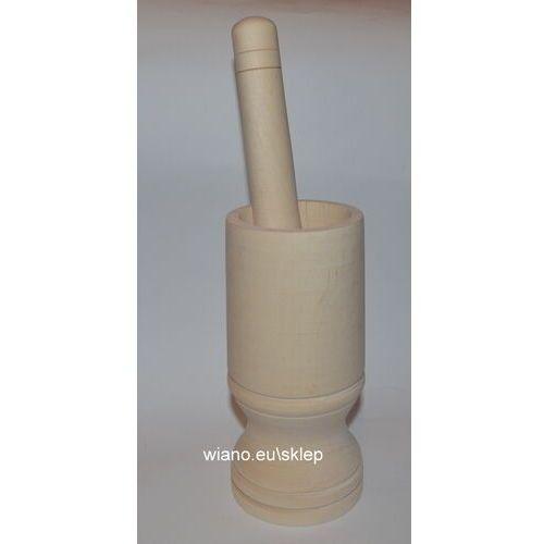 Moździerz drewniany do rozcierania i rozdrabniania przypraw (5)