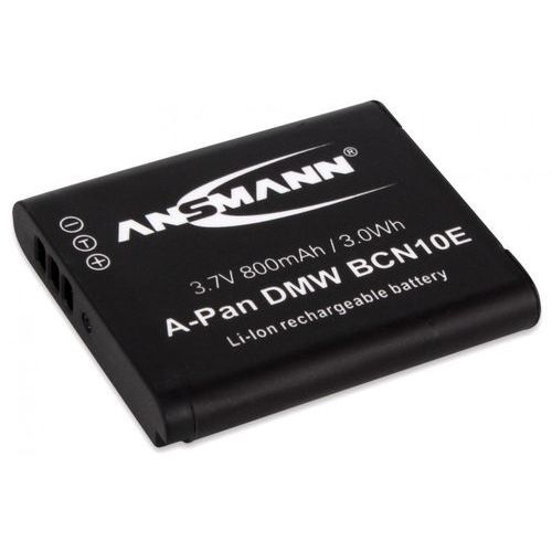 Akumulator ANSMANN do Panasonic A-Pan DMW BCN 10E (800 mAh) (4013674028597)