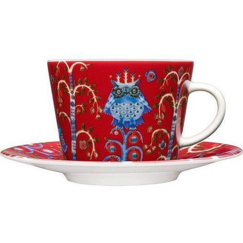 Filiżanka do cappuccino bez spodka Taika czerwona, 1012485