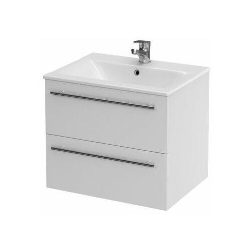 Zestaw szafka z umywalką Cersanit Elisa 60 cm biały, Cersanit_6269070