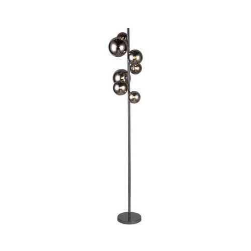 Lampa podłogowa VILLA czarna G9 WOFI (4003474368887)