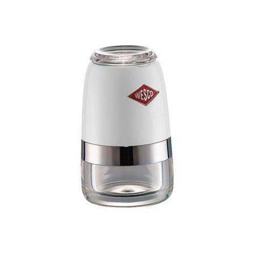 Wesco Młynek sól/pieprz biały 10 cm