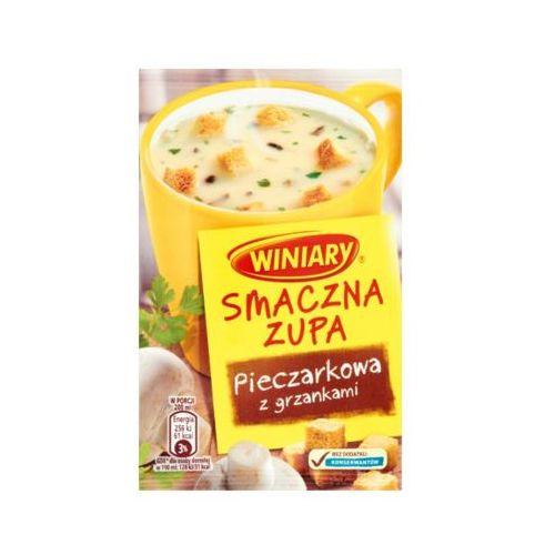 Winiary  14g smaczna zupa pieczarkowa z grzankami