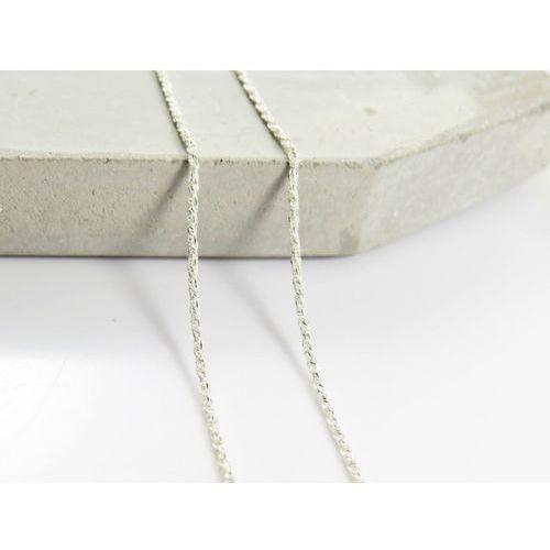 Megasilver Srebrny (925) łańcuszek lisi ogon 45 cm