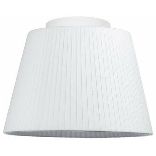 Natynkowa LAMPA sufitowa KAMI ELEMENTARY S CP 1/C/WHITE Sotto Luce abażurowa OPRAWA plafon biały, kolor biały;czarny;kremowy