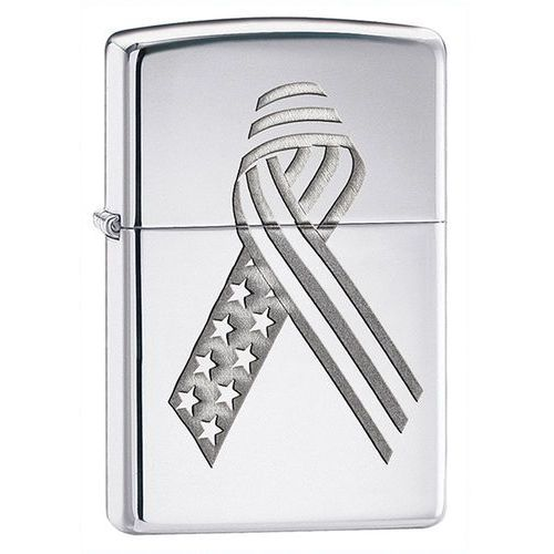 Zippo Zapalniczka  unity ribbon armor, high polish chrome