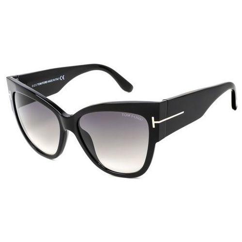 Tom ford Okulary słoneczne ft0371 anoushka 01b