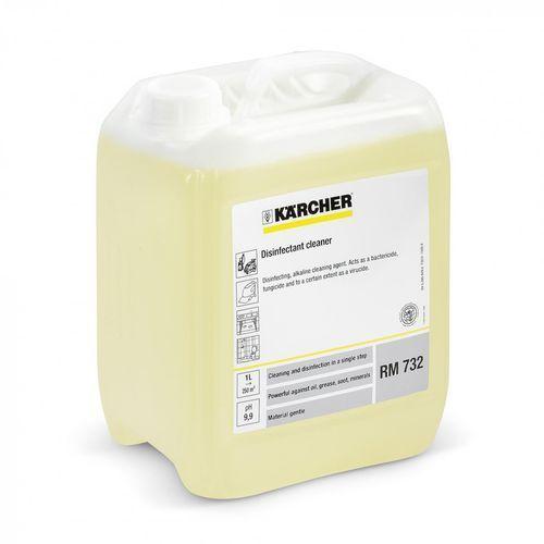 RM 732 (5L, dozowanie 1%) środek dezynfekujący, Karcher ✔SKLEP SPECJALISTYCZNY ✔KARTA 0ZŁ ✔POBRANIE 0ZŁ ✔ZWROT 30DNI ✔RATY 0% ✔GWARANCJA D2D ✔LEASING ✔WEJDŹ I KUP NAJTANIEJ