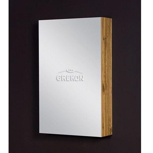 Szafka łazienkowa z lustrem 50x80 seria fokus ne marki Gante