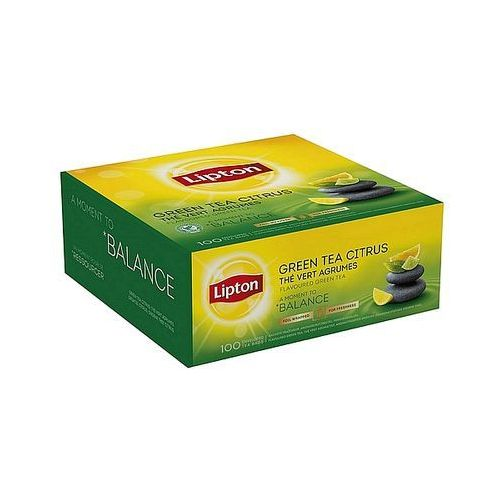 Herbata Lipton Green Tea Citrus, 100szt.