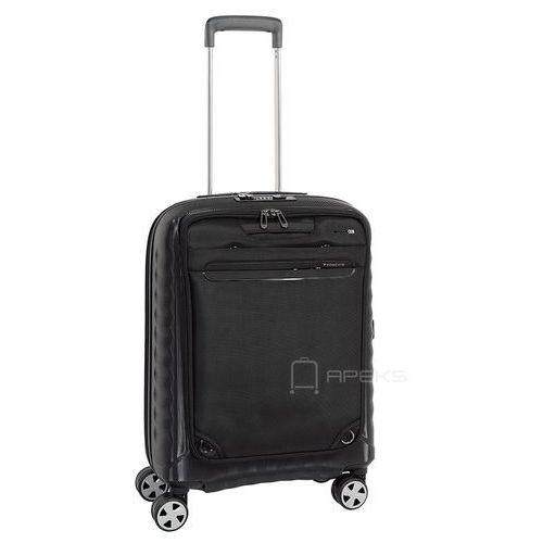 """Roncato Double Premium walizka mała kabinowa 55cm / plecak na laptop 15,6"""" / czarna - Nero, kolor czarny"""