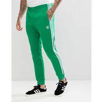 adidas Originals adicolor Superstar Joggers In Green CW1278 - Green, kolor zielony
