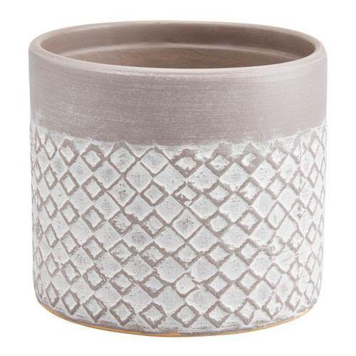 Doniczka ceramiczna ozdobna 10,5 cm driftwo marki Goodhome