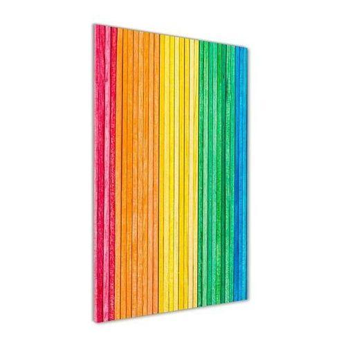 Foto obraz akryl do salonu Kolorowe paski