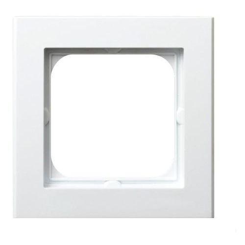 OSPEL SONATA R-1R/00 Ramka pojedyncza BIAŁY, kolor biały