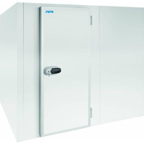 Saro Komora chłodnicza/mroźnicza z podłogą cr8 | 0 / +20 °lub -20 / 0 °c | 2,4 m³ | 2170x1370x(h)2200mm