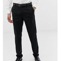 Burton Menswear Big & Tall skinny trousers in black - Black, kolor czarny