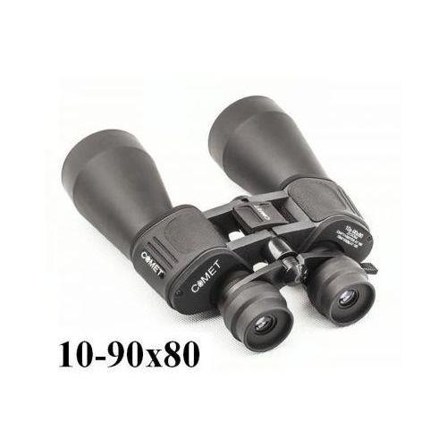 Oryginalna lornetka zoom 10-90x80 + mocowanie statywowe + pokrowiec i akcesoria. marki Comet