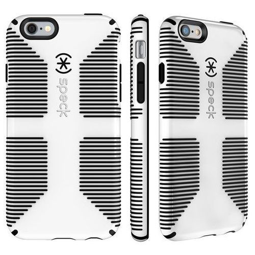 Speck candyshell grip etui obudowa iphone 6s / 6 (white/black)