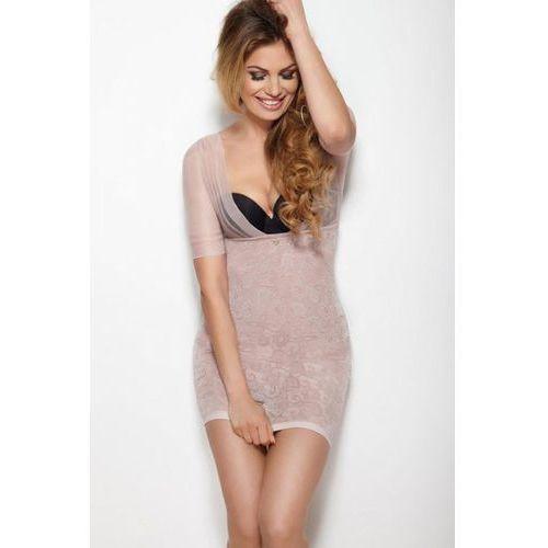 Halka Model Glossy Dress Powder Pink