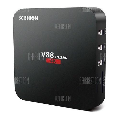 Scishion v88plus tv box android 5.1 system wyprodukowany przez Gearbest