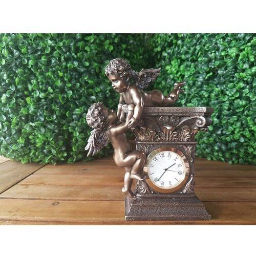 Veronese Secesyjny zegar z aniołami (wu74349a4)