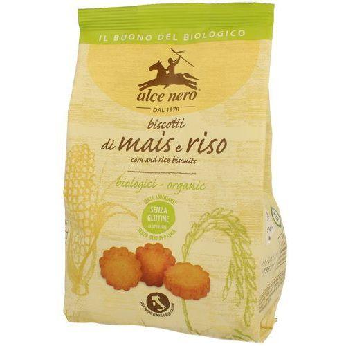 Alce nero (włoskie produkty) Ciastka kukurydziano-ryżowe bezglutenowe bio 200 g - alce nero (8009004811706)