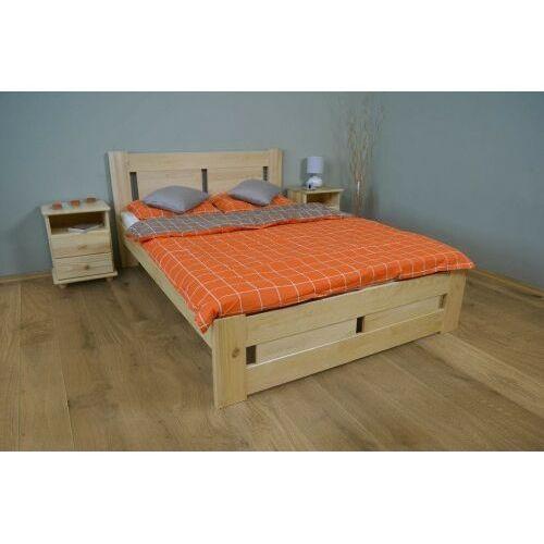 Łóżko do sypialni sosnowe Nela 120x200