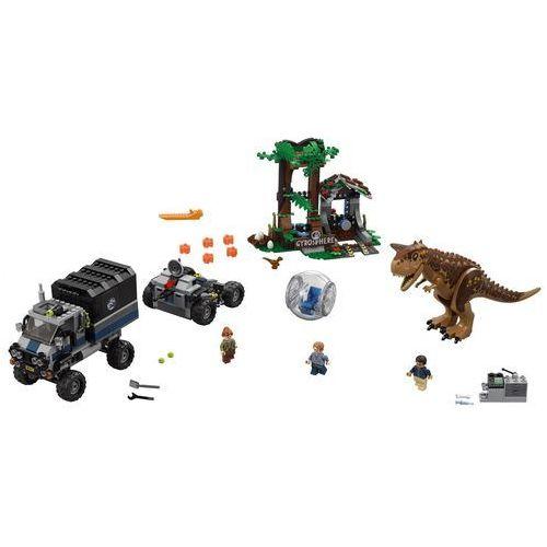 75929 UCIECZKA PRZED KARNOTAUREM (Carnotaurus Gyrosphere Escape) - KLOCKI LEGO JURASSIC WORLD
