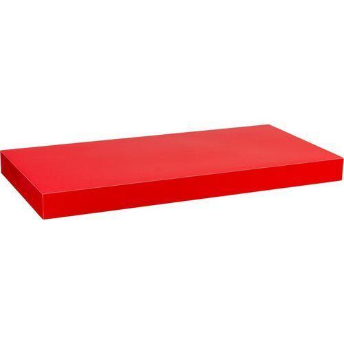 Stilista ® Czerwony połysk półka ścienna wisząca volato 70 cm - 70 cm (40070192)