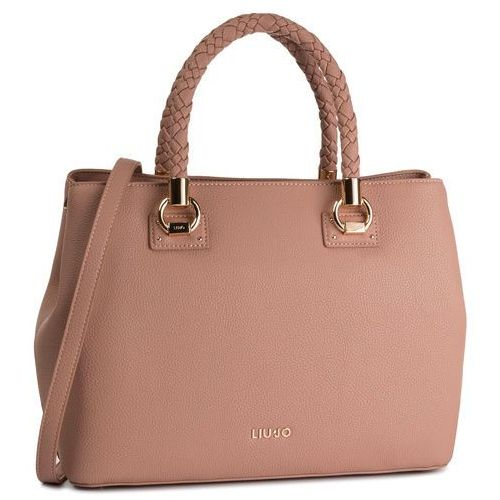 Torebka - l satchel double zip a69027 e0031 cannala 71230 marki Liu jo