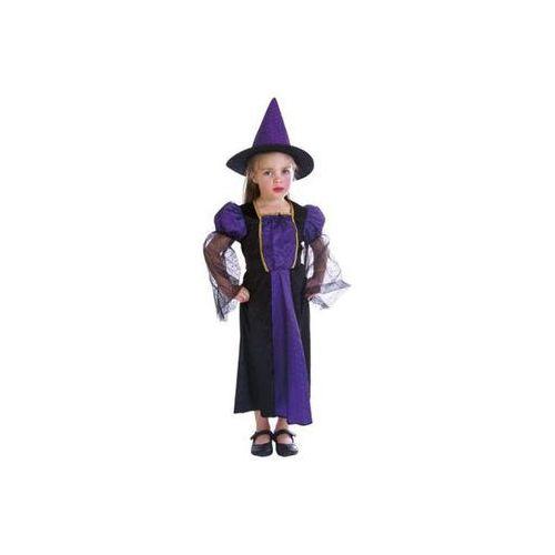 Strój na halloween czarownica na balu 3-4 lat, kostium dla dzieci marki Aster