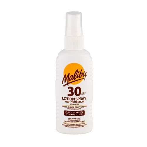 Malibu Lotion Spray SPF30 preparat do opalania ciała 100 ml unisex (5025135120312)
