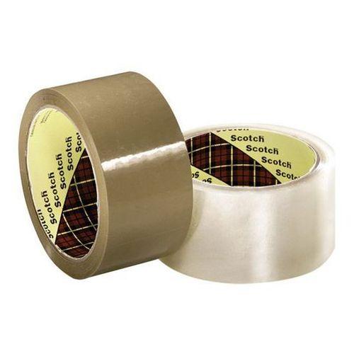 Taśma pakowa Scotch Hot-Melt kauczuk 50mmx66m brązowa KT-0000-4065-1