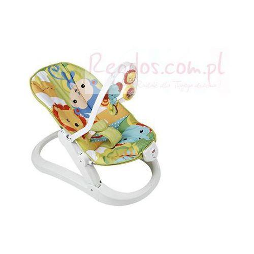 Fisher Price Baby Gear Składany leżaczek z wibracjami - sprawdź w wybranym sklepie